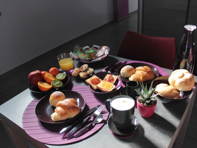 B&B Eco Pompei breakfast (1)